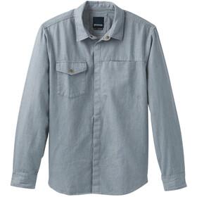 Prana Lenny Overshirt Men, vintage blue